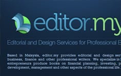 editor.my - editorial & design services for professional books