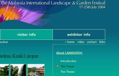 Malaysia International Landscape and Garden Festival 2004